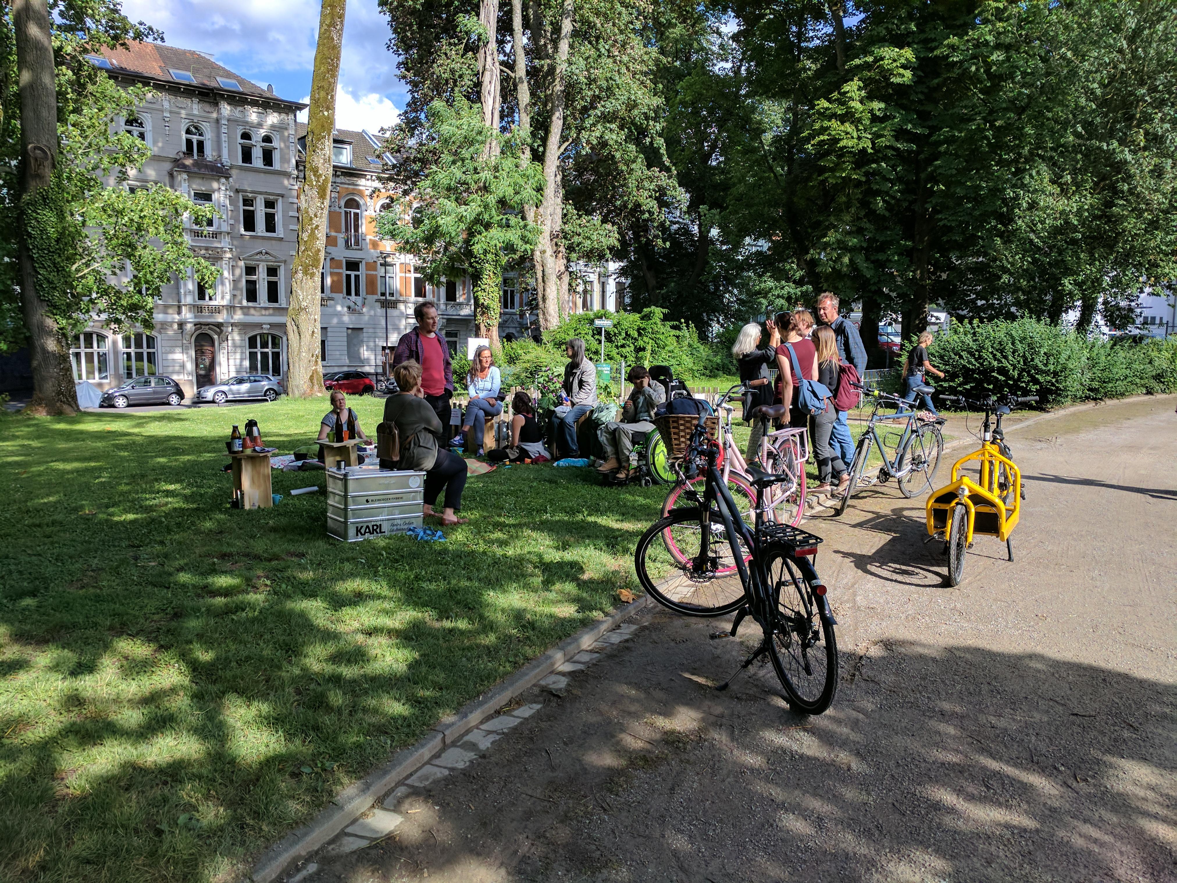 Picknick im Westpark